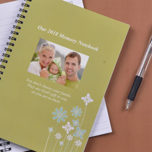 Spring Forest Photo Notebook