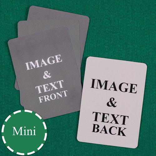 Mini Size Custom Cards (Blank Cards)