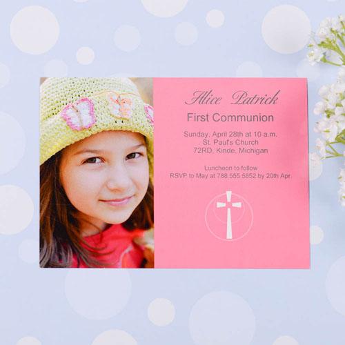 Holy Date - Watermelon Communication Photo Invitation