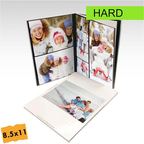 8.5x11 Portrait Custom Hard Cover