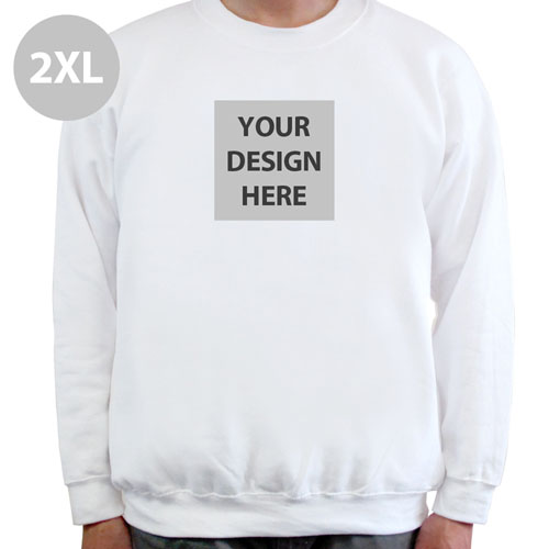 Custom Printed Full Photo Sweatshirt 2XL