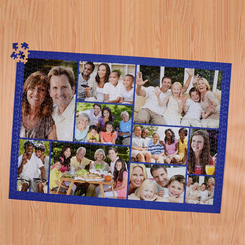 Navy Ten Collage 19.75