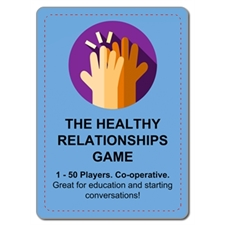 (3 for 1) Healthy Relationships Card Game (Shrink-Wrapped)