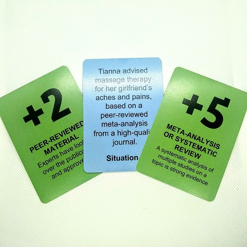 (2 Sets) Science Education Game Cards University High School