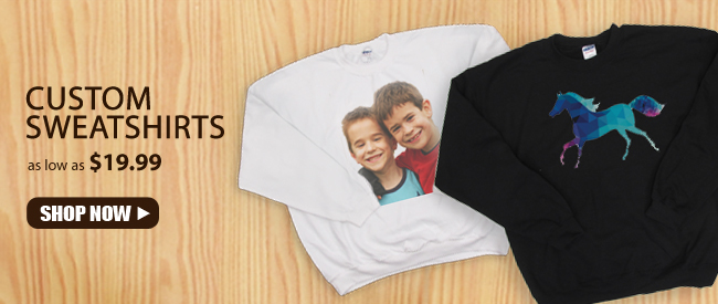 Personalized Sweatshirts with Your Photo