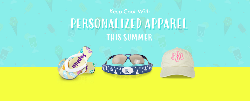 personalized apparel